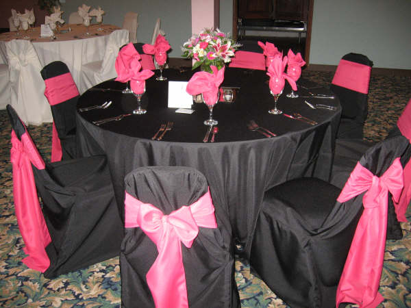 Hot Pink And Black Wedding Weddings Planning Forums Weddingwire